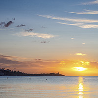 Buy canvas prints of Sunrise at Puerto Pollensa by Jim Key