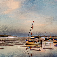 Buy canvas prints of Peaceful end of Day  Digtal Art by Jim Key