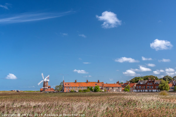 Cley next the Sea  Norfolk Framed Mounted Print by Jim Key