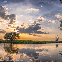 Buy canvas prints of Norfolk Broads by Jim Key