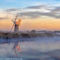 Buy canvas prints of The Broads Norfolk by Jim Key