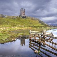 Buy canvas prints of Dunstanburgh Castle by Jim Key