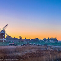 Buy canvas prints of Cley Windmill Norfolk by Jim Key