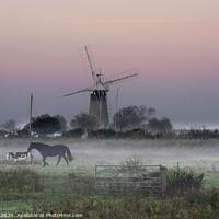 Buy canvas prints of Norfolk Broads by Jim Key