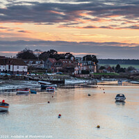 Buy canvas prints of Burnham Overy Staithe Norfolk by Jim Key