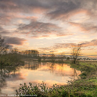 Buy canvas prints of River Great Ouse by Jim Key