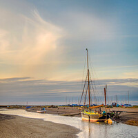 Buy canvas prints of Sailing Barge Juno Blakeney Norfolk by Jim Key