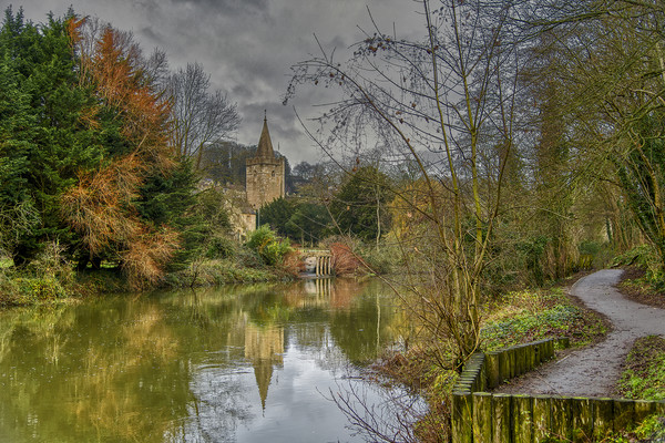 The River Avon Framed Mounted Print by Dave Williams