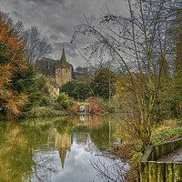 Buy canvas prints of The River Avon by Dave Williams