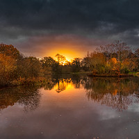 Buy canvas prints of Dramatic Sunrise by Dave Williams