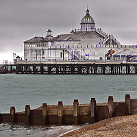 Buy canvas prints of Victorian Pier by Dave Williams