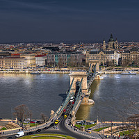 Buy canvas prints of Budapest Nights by Dave Williams