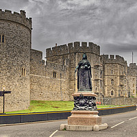Buy canvas prints of Windsor Castle by Dave Williams