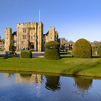Buy canvas prints of Hever Castle by Dave Williams