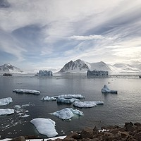 Buy canvas prints of View from Red Rock Ridge, Antarctica by Hazel Wright