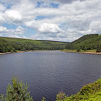 Buy canvas prints of Derwent Reservoir, Peak District by Hazel Wright