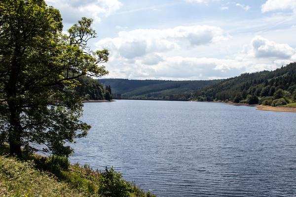 Derwent Reservoir, Peak District Canvas print by Hazel Wright