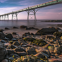 Buy canvas prints of Clevedon Pier by Jaromir Ondra