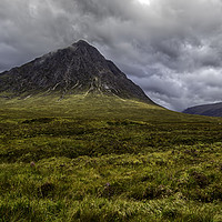 Buy canvas prints of Buachaille Etive Mòr by Derek Daniel