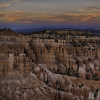 Buy canvas prints of Bryce sunset by Derek Daniel