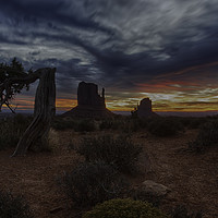 Buy canvas prints of Monument Valley Sunrise by Derek Daniel