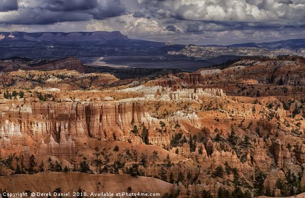 Bryce Canyon Canvas Print by Derek Daniel
