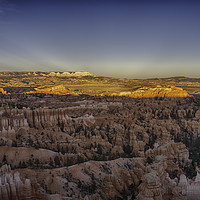 Buy canvas prints of Bryce Canyon Sunset by Derek Daniel