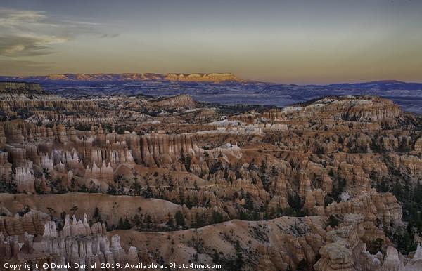 Bryce Canyon Sunset Canvas Print by Derek Daniel