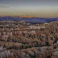 Buy canvas prints of Bryce Canyon Sunset by Derek Daniel