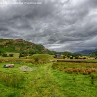 Buy canvas prints of St John's in the Vale, Lake District by Derek Daniel