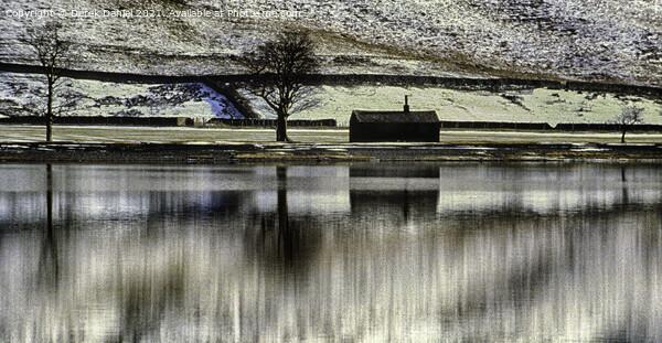 Buttermere in Winter Framed Print by Derek Daniel