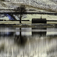 Buy canvas prints of Buttermere in Winter by Derek Daniel