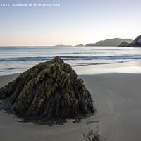Buy canvas prints of Approaching sunset at Slea Head, Dingle Peninsula, Ireland by Derek Daniel