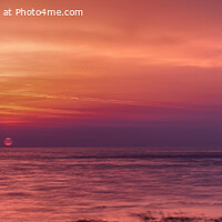 Buy canvas prints of Sunrise at Peveril Point, Swanage (panoramic) by Derek Daniel