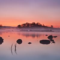 Buy canvas prints of Rannoch Moor Sunrise by overhoist