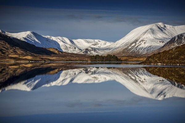 Rannoch Moor Canvas print by overhoist