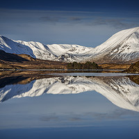 Buy canvas prints of Rannoch Moor by overhoist
