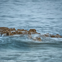 Buy canvas prints of Rocks in the sea by Will Badman