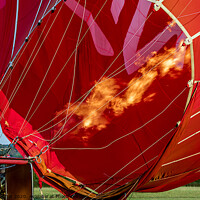 Buy canvas prints of Hot air balloon by David Belcher