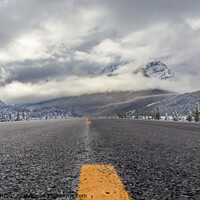 Buy canvas prints of Icefields Parkway by David Belcher