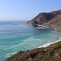 Buy canvas prints of Pacific Coast Highway by Carmen Green