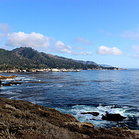 Buy canvas prints of Pacific Coast Highway Los Angeles to San Francisco by Carmen Green