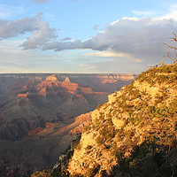 Buy canvas prints of Sunset over the Grand Canyon by Carmen Green