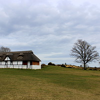 Buy canvas prints of Bolton's Bench cricket club pavilion by Carmen Green