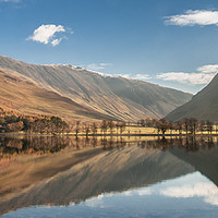 Buy canvas prints of Buttermere, Lake Distict by Andrew Sharpe