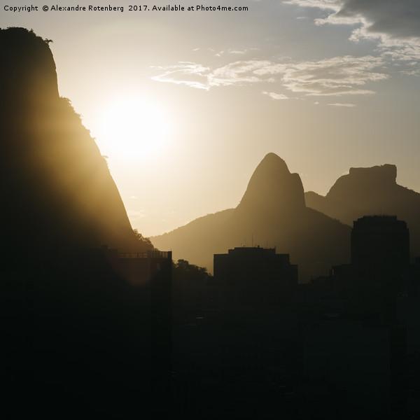 Rio de Janeiro, Brazil mountains Canvas print by Alexandre Rotenberg