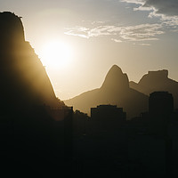 Buy canvas prints of Rio de Janeiro, Brazil mountains by Alexandre Rotenberg
