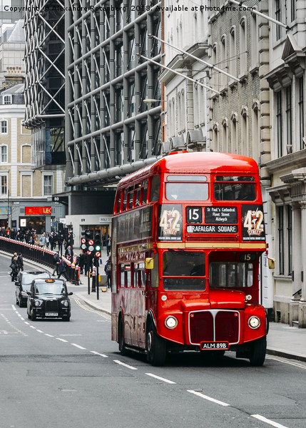 London Routemaster Bus Canvas print by Alexandre Rotenberg