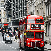 Buy canvas prints of London Routemaster Bus by Alexandre Rotenberg
