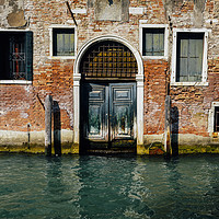 Buy canvas prints of Venetian house on canal by Alexandre Rotenberg